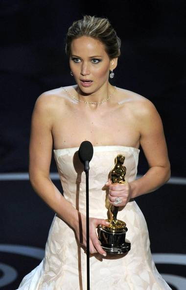 JENNIFER LAWRENCE What went right: Won the Oscar for best actress for Silver Linings Playbook. (Chris Pizzello/AP)