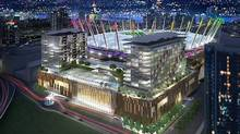 Rendering of the casino planned for the BC Place complex. (Handout/Handout)