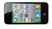 This product image provided by Apple Inc., shows the new Apple iPhone 4. (AP Photo/Apple Inc.) ** NO SALES ** (Associated Press)