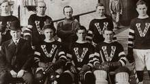 The Vancouver Millionaires of the Pacific Coast Hockey Association -- won the Stanley Cup in 1915.