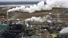 A report to be released Thursday says that emissions growth from Alberta's oil sands will match Ontario's reductions from a cap-and-trade plan. (Todd Korol/Reuters)