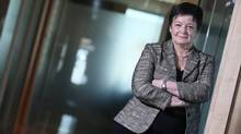Guylaine Saucier of the Bank of Montreal – one of the leaders in advancing women in the upper echelons of corporate Canada (Christinne Muschi For The Globe and Mail)