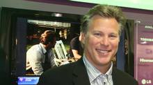 Ross Levinsohn in front of Yahoo's CES 2011 booth. (Yodel Anecdotal/Flickr)