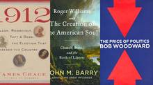 Three books about U.S. elections: Good reading on the weekend before the vote...