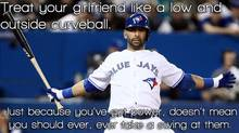 One of the images from the Feminist Jose Bautista Tumblr site.