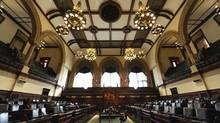 The Ontario legislature in Toronto. (Fred Lum/The Globe and Mail)