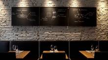 At Io Osteria Personale in Florence, customers order from playful chalk sketches.