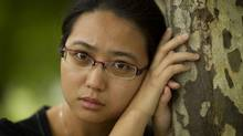 Sonia Zhao came to Canada as a goodwill ambassador from China, part of what's known as the Confucius Institute Initiative, but later applied for refugee status and is now critical of what she calls the repressive regime she fled. (Peter Power/The Globe and Mail)