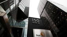 The Sun Life Financial building in Toronto. (For The Globe and Mail)