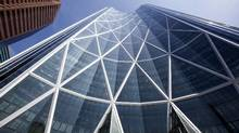 As recently as 2012, the opening of Encana Corp.'s Bow tower signalled an industry on the rise. At the time, oil prices were in the triple digits, and the southern Alberta city was marked by building shortages and sky-high rents. (Chris Bolin For The Globe and Mail)