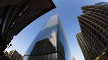The new Brookfield Place is seen in downtown Calgary on Friday. Cenovus Energy has announced it will delay its move into the soon to be completed Brookfield Place. (Todd Korol/Todd Korol)