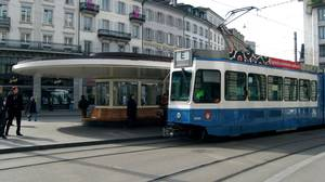 I quickly fell in love with Zurich's cute (and budget friendly) tram system.
