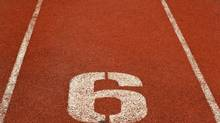 Athletics Track Lane Number 6 (shuttoz/Getty Images/iStockphoto)