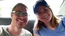 Facebook photo of Lindsey 23, and Danielle Petersen, 22, who were allegedly of 10 tourists that stripped at the top of Mount Kinabalu on May 30 and are now being held in police custody with three others from the group, according to Malaysia Sabah officials, who say their actions disrespected the mountain and caused the earthquake. (Facebook)