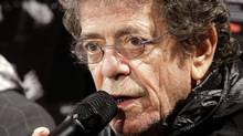 Lou Reed and Laurie Anderson, appearing as curators of Sydney's Vivid Festival in May, were joined on a Montreal jazz festival stage by John Zorn on July 2, 2010. (Rick Rycroft/Rick Rycroft/The Associated Press)