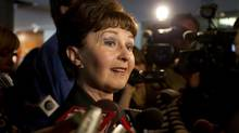 Toronto Councillor Gloria Lindsay Luby says she is retiring to take on 'new challenges.' (Deborah Baic/The Globe and Mail)