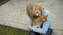 Labour Minister Lisa Raitt relaxes at her Oakville, Ont., home on June 17, 2011. (Moe Doiron/Moe Doiron/The Globe and Mail)
