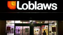 A customer enters a Loblaw Cos. Ltd. store in Toronto on Wednesday, Aug. 31, 2011. (Brent Lewin/Bloomberg)