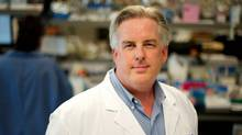Dr. Robert Bristow is shown in this undated handout photo. Canadian researchers have developed a genetic test to identify which men are at highest risk for recurrence of prostate cancer following localized treatment with surgery or radiation therapy. (SANDRA GRILO TENAGLIA/THE CANADIAN PRESS)