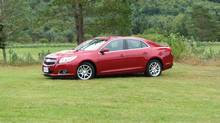 2013 Chevrolet Malibu (Bob English for The Globe and Mail)