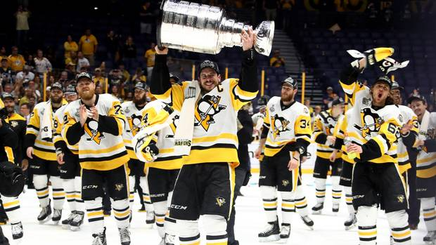 Penguins Win Back-to-back Stanley Cups With 2-0 Victory Over Nashville