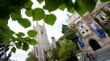 The University of Toronto campus in Toronto, photographed Monday Oct. 1, 2012 (Kevin Van Paassen/The Globe and Mail)