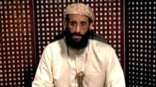 Anwar al-Awlaki, a U.S.-born cleric linked to al Qaeda's Yemen-based wing, gives a religious lecture in an unknown location in this still image taken from video released by Intelwire.com on September 30, 2011. (Reuters)