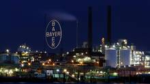 The Bayer AG chemical park is pictured in Leverkusen, Germany in a Jan. 31, 2013 file photo. (Oliver Berg/AP)