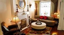 Gino Berti's living room. (Fernando Morales)