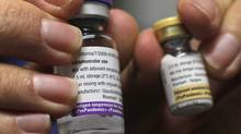 Pandemrix vaccine against H1N1 influenza may have triggered narcolepsy in kids with a genetic predisposition. The World Health Organization is investigating. (Johannes Eisele/Reuters/Johannes Eisele/Reuters)
