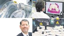 By investing in leading-edge technologies, Protec Dental Laboratories has increased revenue and established itself as an industry leader, says company president Neal Russell (bottom left). (SUPPLIED)