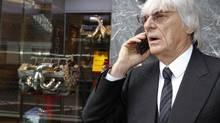 Formula One commercial supremo Bernie Ecclestone (MAX ROSSI/REUTERS)