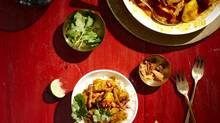 Coconut chicken curry with cracklings (Andrew Grinton For The Globe and Mail)