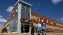 A Metro grocery store in Toronto. (Peter Power/Peter Power/The Globe and Mail)