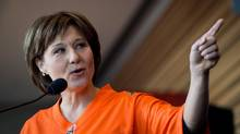 B.C. Premier Christy Clark. (DARRYL DYCK/THE CANADIAN PRESS)