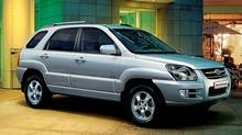 The 2005 Sportage shared just about everything with its corporate stable-mate, the Hyundai Tucson.