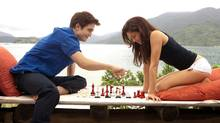 Robert Pattinson and Kristen Stewart star in The Twilight Saga: Breaking Dawn, Part 1. (Andrew Cooper/Summit Entertainment)