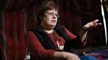 Attawapiskat Chief Theresa Spence is in the third week of a hunger strike on Monday Jan. 7. (CHRIS WATTIE/REUTERS)