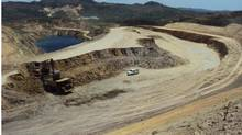 B2Gold's Nicaragua La Libertad Mine. (B2Gopld)