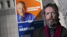 Despite the latest polls suggesting a rise in NDP support, Pierre Jacob is voting for the Bloc Qu�b�cois in the upcoming federal election, seen here posing in Montreal, April 22, 2011. (Christinne Muschi/The Globe and Mail/Christinne Muschi/The Globe and Mail)