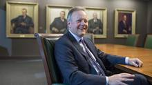 Governor of the Bank of Canada Stephen Poloz. (JUSTIN TANG/THE GLOBE AND MAIL)