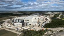 Detour Gold's processing plant facilities at the Cochrane, Ont.-area Detour Lake mine. The mine will be Canada's largest gold mine when it opens in January. (Detour Gold)