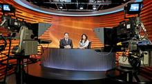 The set of APTN National News