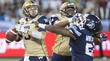 The Blue Bombers' loss to Toronto on Aug. 12 exposed the Winnipeg defence's Achilles heel. (Chris Young/THE CANADIAN PRESS)