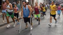 The Terry Fox Marathon of Hope, as run in Havana in March of 2006 (ADALBERTO ROQUE)