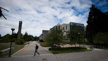 The University of British Columbia campus is pictured in Vancouver, B.C., on Thursday, Aug. 20, 2015. (DARRYL DYCK For The Globe and Mail)