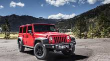 2013 Jeep Wrangler Unlimited. (Chrysler)