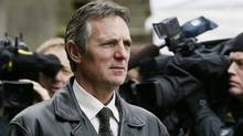 Former head of the RCMP Missing Women Task Force, retired Insp. Don Adam, leaves the B.C. Supreme Court in New Westminster, B.C. Tuesday, December 11, 2007. (Chuck Stoody/ The Canadian Press/Chuck Stoody/ The Canadian Press)