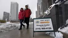 Banks lost more than 2 per cent of their market share in the mortgage business in 2014. (Fred Lum/The Globe and Mail)