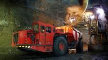 Production at Hudbay flagship mine, the 777 in Flin Flon, Man. (Brian Pieters)
